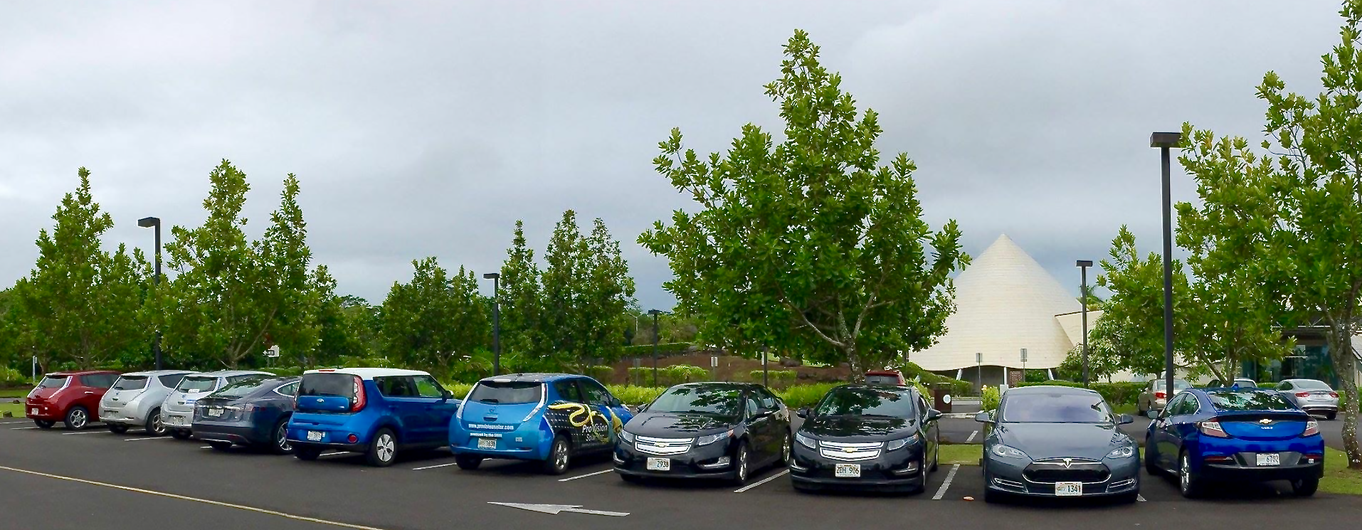 Our growing fleet of electric vehicles.... kicking gas!